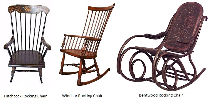 Hitchcock-Windsor-and-Bentwood-Rocking-Chairs