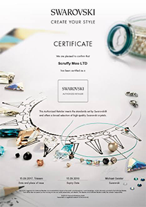 Swarovski-crystals-retail-certificate-of-authenticity