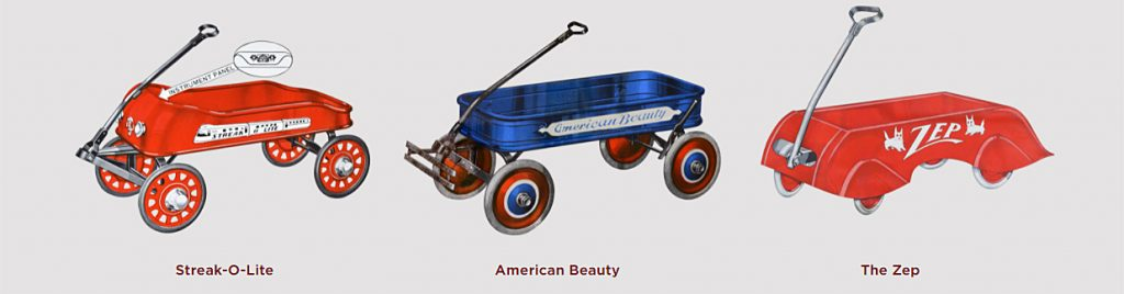 1930s Radio Flyer Models for Collecting Vintage Radio Flyer